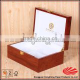 luxury jewelry gift boxes with golden hot stamping logo