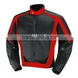 Air mesh Biker Jacket (Red / Blk)