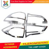 2008 MITSUBISHI PAJERO TAIL LIGHT COVER MONTERO CHROME TAIL LAMP COVER AUTO AFTERMARKET PARTS CAR ACCESSORIES