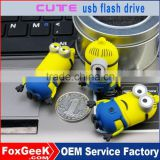 Wholesale usb flash drive 2 gb 1GB 2GB 4GB 8GB 16GB 32GB 64GB 128GB 256GB cartoon character usb flash drive