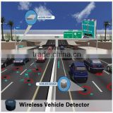 ROSIM Battery-powered Vehicle Detection Sensor Magnetometer Detector Traffic Counter Replace Inductive Loop Detector