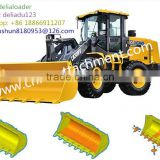Customized XCMG LW160/LW300/LW400/LW500/LW600/LW700/ LW900 Wheel Loader Standard bucket/Strengthened buckets for sale