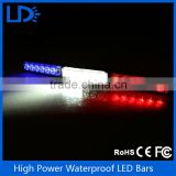 High Power Flashing LED Warning Light 18LED Strobe Caution Light Car Emergency Beacon Light Bar