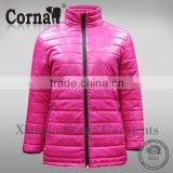 Custom high quality new arrival wholesale cheap down coat women pink padding jacket winter coat