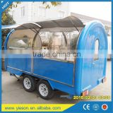 Small or big wheels fast food carts kiosk/food selling car/food street kiosk for salefood truck
