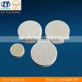 Ceramic honeycomb,structured tower packing,with high temperature resistant,alumina honeycomb filter