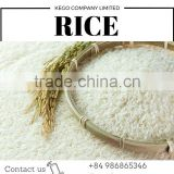 Long grain white rice 5% broken from Vietnam Kego