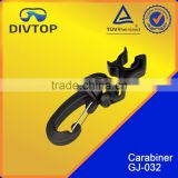 Scuba diving breathing air compressor hose clip