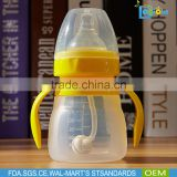 High Quality BPA Free Silicone Biberon Baby Bottle Manufacturer Wholesale Nursing Bottle