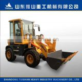1.2T TOP brand agricultural farm and garden use compact tractors loader good quality and price cheap made in China