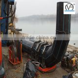 China Factory large diameter pe drainage pipe