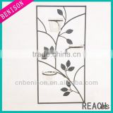 High Quality Classic Indoor Metal Wall Art With Metal Leaves Wall Decoration Wholesale Wall Art