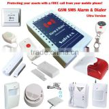 A Ultra-Low Cost Multifunctional and GSM SMS Alarm Dialer--Ultra Version Alarm Panel In The Worldwide!