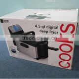 Stock Digital Deep fryer