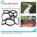 DIY Plastic Walk Path Maker Mold Manually Paving/Cement Brick Molds The Stone Road