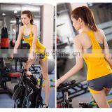 New product 2016 hot sex womens sport bra racer back for wholesales