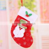 HD2039 Wholesale Christmas present Children baby Christmas cute wool Christmas socks