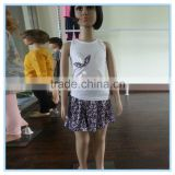 OEM service children summer clothes girl clothing ,wholesale children's boutique clothing, kids clothes sets