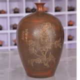 Large Floor Vase Hand Painting Ceramic China Artwork Vase
