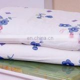 printed flowers 100% mulberry silk bedding quilt