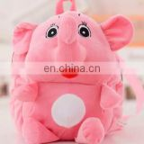 free sample cute plush animal elephant backpack baby bag stuffed toy elephant backpack for kids