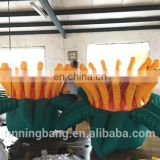 Custom made oxford cloth giant inflatable flower for event decoration