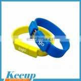 High quality OEM wristband usb flash drive custom usb