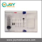Disposable thoracic puncture set