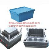 DDW Plastic Crate Mold Injection Turnover Box Mold exported to Turkey