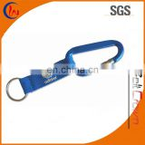 Key Tag Carabiner Key Chain with Strap with PVC Patch