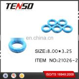 Tenso Fuel Injector O-rings Fuel Injector Repair Kits NBR Viton Oring 21026-2 8.00*3.25