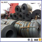 factory cutting hot rolled carbon metal mild steel strip in coils