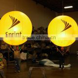 Hot sale inflatable balloon led light inflatable custom printing lighting air balloon for advertising
