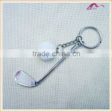 Fashion High Quality Metal Golf Ball Sets Keychain For Gifts