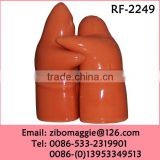 Beautiful Colored Personalized Porcelain Salt and Pepper Set Wholesale for Tableware Made in Zibo