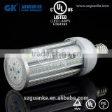 CUL/UL 347V corn bulb listed E26 E39 27W 36W 45W 54W 36w street light led medium mogul base replacement for 75W sodium lamp