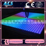 ACS top quality led rgb removable dance floor, dancing stage, LED Party Dance Floor for sale