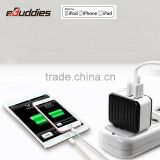 New arrival 3.4a fast charger factory OEM mfi certified wall travel charger with MFi 8pin cable