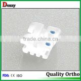 Dental Ceramic orthodontic Roth brackets