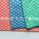 semi disposable spunlace non woven household cleaning cloths/non-woven dry wipes