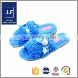 woman home soft leather open toe slipper fashion, cute new designs slippers