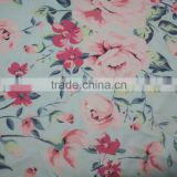 Microfiber solid white color polyester lycra fabric for sublimation printing / digital printing fabric