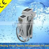 IPL + RF+Nd yag laser combined 3 in 1 multifunction IPL hair removal skin rejuvenation machine