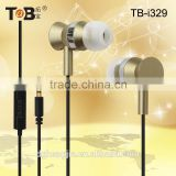 Consumer electronic new products mobile phone accessory cheap powerful bass driven stereo sound single earphone with mic