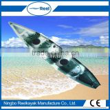 natural style cheap fishing canoe kayak with pedals