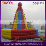 inflatable rock climber, climbing wall inflatable price,cheap climb mountain sport games