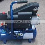 1HP 6L 0.75KW 120L/min capacity mini air compressor with one gauge one valve                                                                         Quality Choice