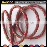 3mm custom design durable decorative Jacquard round Elastic Cord                                                                         Quality Choice