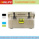 25L Black Ice Chest Cooler/ Rotomolded Ice Chest Cooler                                                                         Quality Choice