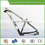 Best seller! 3k/UD matt/gloss finish OEM 29er mtb mountain bike carbon fiber bicycle frame